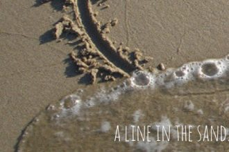 How can you really draw a hard line in the sand?